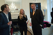 SUZIE TURNER; RICHARD BRIGGS, Party given by Basia Briggs and Richard Briggs at their home in Chelsea. London. 14 May 2012