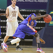 The Ashley  High School Boys faced Whiteville High School in the first round of the Leon Brogden Holiday Tournament Saturday December 27, 2014 at UNCW. (Jason A. Frizzelle)