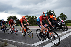 Christine Majerus (LUX) leads the break at Boels Ladies Tour 2019 - Stage 4, a 135.6 km road race from Arnhem to Nijmegen, Netherlands on September 7, 2019. Photo by Sean Robinson/velofocus.com