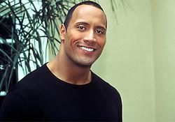 April 1, 2002 - Hollywood, California, U.S. - Dwayne Johnson, ''The Rock'', at the Press Conference for ''The Scorpion King''.  April 2002.  **NO ITALY  (Credit Image: © Armando Gallo via ZUMA Studio)