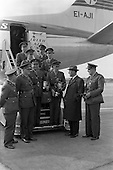 1961 - Captain W.A. Ringrose returns from Rome.