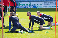 Dundee&rsquo;s James Vincent - Dundee FC itraining at Dens Park, Dundee, Photo: David Young<br /> <br />  - &copy; David Young - www.davidyoungphoto.co.uk - email: davidyoungphoto@gmail.com