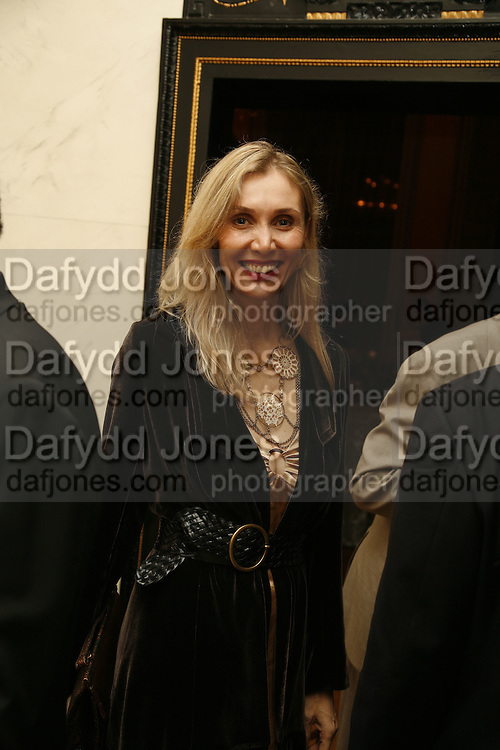 Allegra Hicks, PARTY AFTER THE OPENING OF THE ANISH KAPOOR EXHIBITION AT THE LISSON GALLERY. Duchess Palace, 16 Mansfield St. London. W1. 10 October 2006. -DO NOT ARCHIVE-© Copyright Photograph by Dafydd Jones 66 Stockwell Park Rd. London SW9 0DA Tel 020 7733 0108 www.dafjones.com