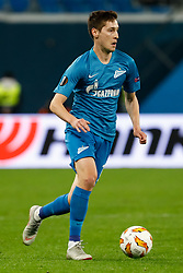 October 4, 2018 - Saint Petersburg, Russia - Daler Kuzyaev of FC Zenit Saint Petersburg in action during the Group C match of the UEFA Europa League between FC Zenit Saint Petersburg and SK Sparta Prague at Saint Petersburg Stadium on October 4, 2018 in Saint Petersburg, Russia. (Credit Image: © Mike Kireev/NurPhoto/ZUMA Press)