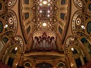 The Mander pipe organ in the church of St. Ignatius Loyola
