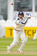 Yorkshire's Jack Brooks during the Specsavers County Champ Div 1 match between Somerset County Cricket Club and Yorkshire County Cricket Club at the County Ground, Taunton, United Kingdom on 17 May 2016. Photo by Graham Hunt.