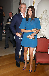 Model LISA BARBUSCIA and her husband ANTON BILTON at the Bruce Oldfield Crimestoppers Party held at Spencer House, 27 St.James's Place, London SW1 on 22nd September 2005.<br /><br />NON EXCLUSIVE - WORLD RIGHTS
