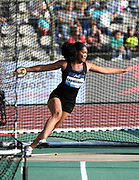 Denia Caballero (CUB) places eighth in the women's discus at 184-11 (56.37m) in the 43nd Memorial Van Damme in an IAAF Diamond League meet at King Baudouin Stadium in Brussels, Belgium on Friday,August 31, 2018. (Jiro Mochizuki/Image of Sport)