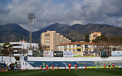 MARBELLA, SPAIN - Tuesday, March 5, 2019: A general view of the Estadio Municipal de Marbella during an international friendly match between Wales and Republic of Ireland. (Pic by David Rawcliffe/Propaganda)