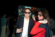 MARCO BRAMBILLA; KATHERINE KEATING, Andre Balazs and Jefferson Hack host a party to unveil Marco BrambillaÕs new 3-D work. The Standard Hotel. Miami 3 December 2010. -DO NOT ARCHIVE-© Copyright Photograph by Dafydd Jones. 248 Clapham Rd. London SW9 0PZ. Tel 0207 820 0771. www.dafjones.com.<br /> MARCO BRAMBILLA; KATHERINE KEATING, Andre Balazs and Jefferson Hack host a party to unveil Marco Brambilla's new 3-D work. The Standard Hotel. Miami 3 December 2010. -DO NOT ARCHIVE-© Copyright Photograph by Dafydd Jones. 248 Clapham Rd. London SW9 0PZ. Tel 0207 820 0771. www.dafjones.com.