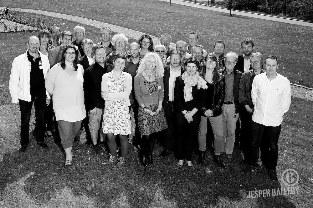 Danske boligarkitekters medlemmer til en workshop d. 1. maj på Trinity i Fredericia