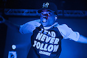 Chance The Rapper performs at The Riv on November 27, 2013.