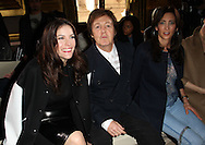 PARIS, FRANCE - MARCH 07:  Liv Tyler, Nancy Shevell and Sir Paul McCartney attend the Stella McCartney Ready to Wear Autumn/Winter 2011/2012 show during Paris Fashion Week Opera Garnier on March 7, 2011 in Paris, France.  (Photo by Tony Barson/WireImage)