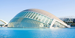 Ciudad de las Artes y las Ciencias. Valencia. Calatrava Architect