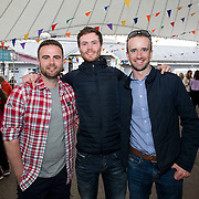 14.06.2018.             <br /> Limerick Food Group hosted the Urban Food Fest street food evening in the Milk Market on Thursday June 14th with a 'Summer Fiesta' theme in one big Limerick city summer party.<br /> <br /> Pictured at the event were, Philip O'Sullivan, Evan O'Sullivan and Keith Toomey. Picture: Alan Place