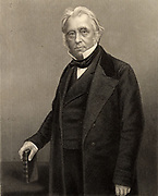 Thomas Babington Macaulay, lst Baron Macaulay (1800-1859) English historian, poet and Whig politician, born at Leicester.  Author of 'History of England from the accession of James II' (1848) and 'Lays of Ancient Rome' (1842).  Engraving c1870.