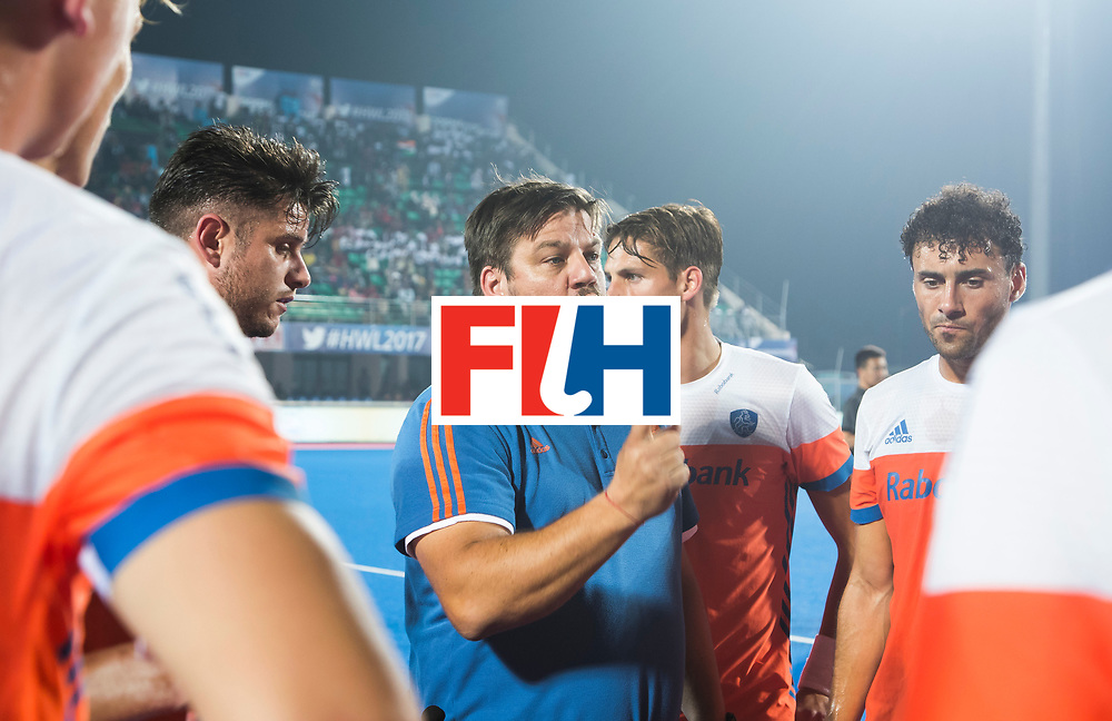 BHUBANESWAR - bondscoach Max Caldas (Ned)  tijdens de Hockey World League Final wedstrijd Nederland-Argentinie (3-3).    COPYRIGHT  KOEN SUYK