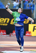 Tim Nedow (CAN) places seventh in the shot put at 67-6 (20.57m) during the 39th Golden Gala Pietro Menena in an IAAF Diamond League meet at Stadio Olimpico in Rome on Thursday, June 6, 2019. (Jiro Mochizuki/Image of Sport)