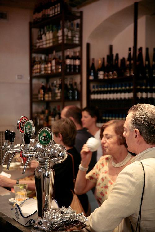 La Bottega del Caffe, Piazza Madonna dei Monti, Rome, Italy, Frommer's Italy Day By Day