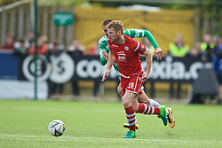 RHOSYMEDRE, WALES - Sunday, May 5, 2019: Connah's Quay Nomads's Jay Owen during the FAW JD Welsh Cup Final between Connah's Quay Nomads FC and The New Saints FC at The Rock. (Pic by David Rawcliffe/Propaganda)