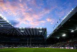 A general view of St James' Park, home to Newcastle United, as it hosts the 2019 European Rugby Challenge Cup Final - Mandatory by-line: Robbie Stephenson/JMP - 10/05/2019 - RUGBY - St James' Park - Newcastle, England - ASM Clermont Auvergne v La Rochelle - European Rugby Challenge Cup Final