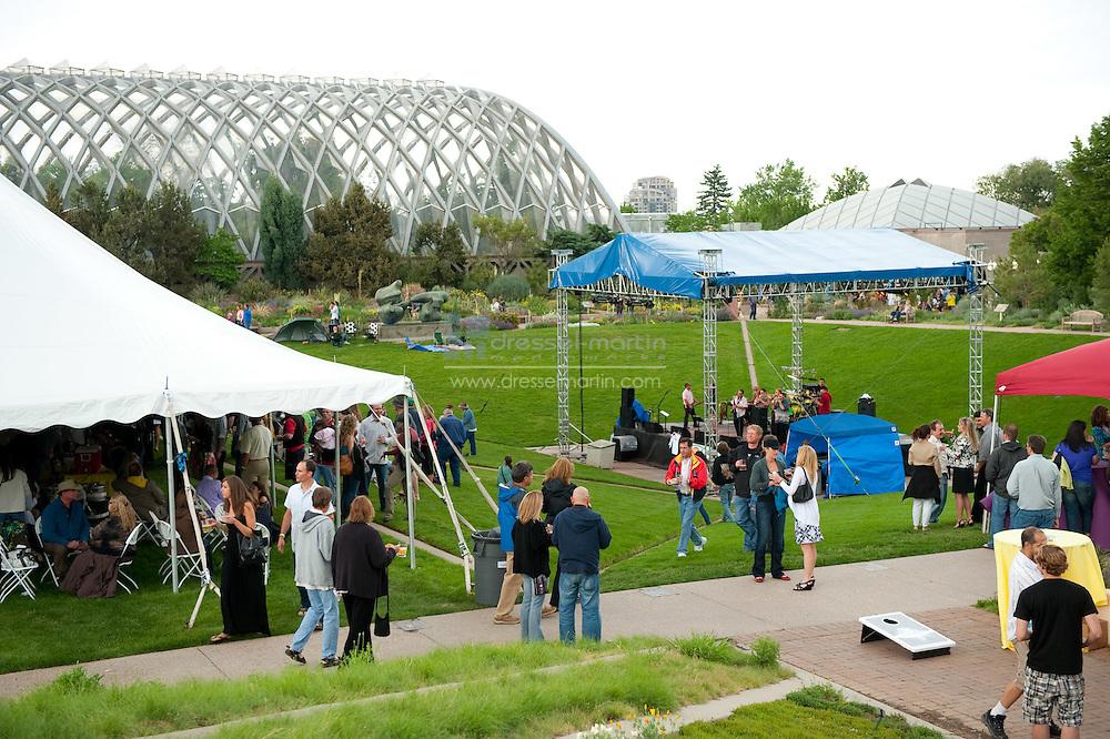 2010 Gardens Grapes & Hops event at Denver Botanic Gardens, York St.