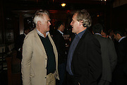 RICHARD INGRAMS AND HENRY PORTER, Paul Foot Award for Journalism, Courthouse Hotel, 19 Great Marlborough Street, London. 16 October 2006. -DO NOT ARCHIVE-© Copyright Photograph by Dafydd Jones 66 Stockwell Park Rd. London SW9 0DA Tel 020 7733 0108 www.dafjones.com