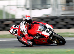 NEIL HODGSON ENG  DUCATI CORSE AD-VF   916R,  World Superbike Championship Donington Park  4th May 1997WORLD SUPERBIKE DONN 4/5/1997