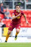 Carl McHugh (#4) of Motherwell FC during the Ladbrokes Scottish Premiership match between St Johnstone and Motherwell at McDiarmid Stadium, Perth, Scotland on 11 May 2019.