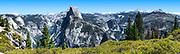 Glacier Point Half Dome At Yosemite National Park