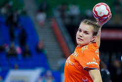 13-12-2019 JAP: Semi Final Netherlands - Russia, Kumamoto<br /> The Netherlands beat Russia in the semifinals 33-22 and qualify for the final on Sunday in Park Dome at 24th IHF Women's Handball World Championship / Merel Freriks #19 of Netherlands