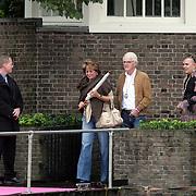 NLD/Amsterdam/20080907 - Gasten van het huwelijksfeest Nina Brink en Pieter Storms, Christine Kroonenberg