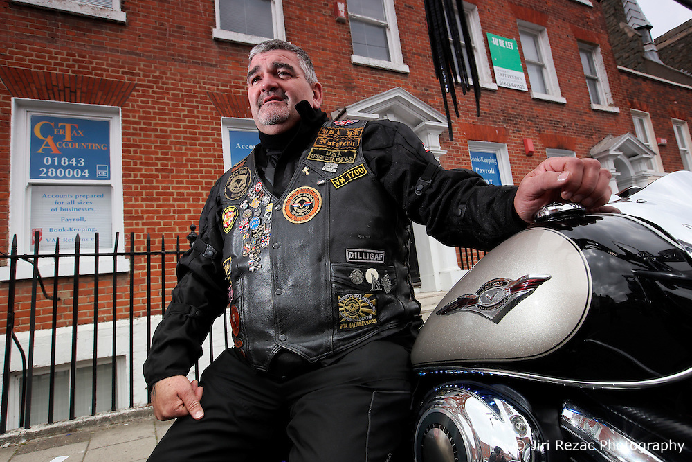 UK ENGLAND MARGATE 14MAY16 - Truck driver Tony Ashton, who is undecided about how he will vote in the Brexit referendum, poses for a photo in Margate, Kent, England.<br /> <br /> jre/Photo by Jiri Rezac<br /> <br /> © Jiri Rezac 2016