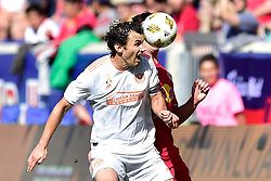 September 30, 2018 - Harrison, New Jersey, USA - Atlanta United FC defender MICHAEL PARKHURST (3) in action at Red Bull Arena in Harrison New Jersey New York defeats Atlanta 2 to 0 (Credit Image: © Brooks Von Arx/ZUMA Wire)