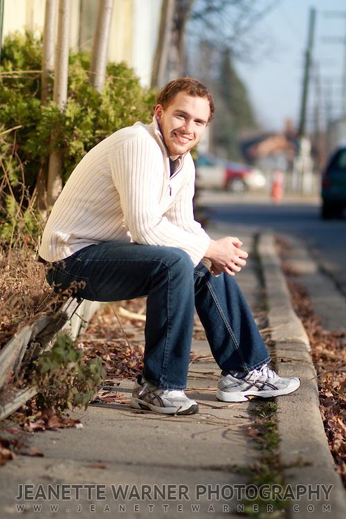 Mackenzie McCormick senior portraits in Holly, Michigan