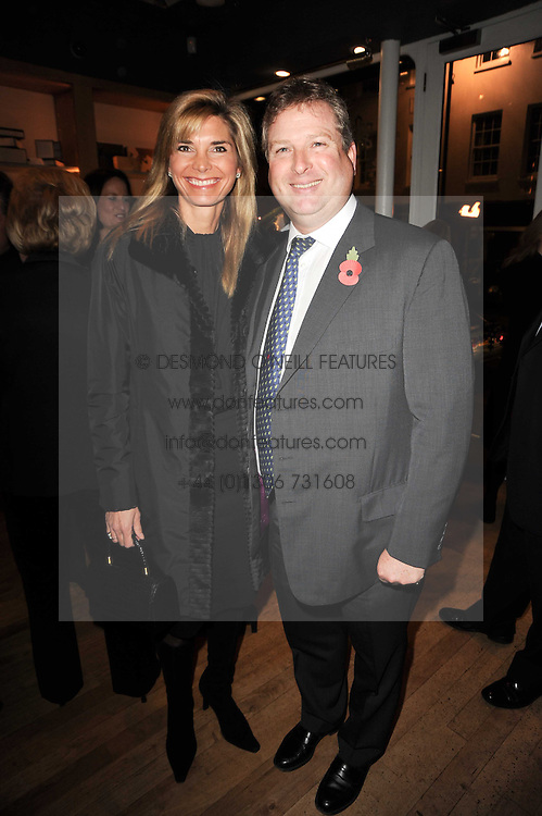 WILLIAM & LUCY ASPREY at a party to celebrate 25 years of the David Linley store , 60 Pimlico Road, London on 16th November 2010.