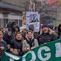 Stop Sfratti - Manifestazione dei movimenti per il diritto all'abitare