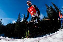 WIESTNER Serafin (SUI) competes during Men 12,5 km Pursuit at day 3 of IBU Biathlon World Cup 2014/2015 Pokljuka, on December 20, 2014 in Rudno polje, Pokljuka, Slovenia. Photo by Vid Ponikvar / Sportida