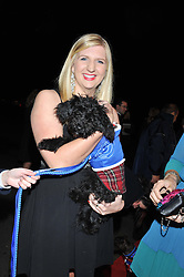 Olympic Gold medal swimmer REBECCA ADLINGTON at the Battersea Dogs & Cats Home Collars & Coats Gala Ball held at Battersea Evolution, Battersea Park, London SW8 on 8th November 2012.