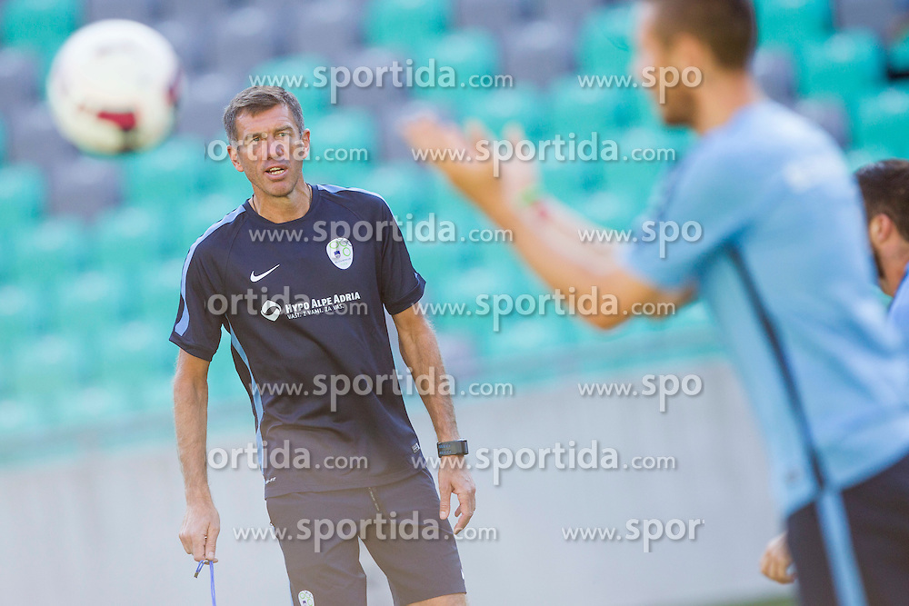 Srecko Katanec, head coach of National footbal team Slovenia during practice session of Slovenian National Football Team before Euro 2016 Qualifications match against Switzerland, on September 1, 2015 in SRC Stozice, Ljubljana, Slovenia. Photo by Urban Urbanc / Sportida