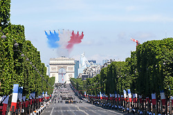Atmosphere during Bastille Day Military Parade, Place de la Concorde, in Paris on July 14, 2017. Photo by Ammar Abd Rabbo/ABACAPRESS.COM