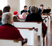 Christmas Service at the Smith Meetinghouse in Gilmanton December 19, 2010