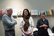 DEWI LEWIS; CARLA BOREL; CAROLINE LEWIS, Paris Photo. 7 November 2018