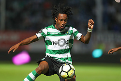 September 8, 2017 - Santa Maria Da Feira, Aveiro, Portugal - Sporting's Portuguese forward Gelson Martins in action during the Premier League 2017/18 match between CD Feirense and Sporting CP, at Marcolino de Castro Stadium in Santa Maria da Feira on September 8, 2017. (Credit Image: © Dpi/NurPhoto via ZUMA Press)