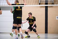 14-01-2017 NED: PDK Huizen - Inter Rijswijk, Huizen<br /> Prima Donna Kaas verliest met 3-2 van Rijswijk / Leon Luini #7