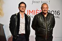 Romain Segaud &amp; Jean Pierre Jeunet<br /> Lyon 8 oct 2016 - Festival Lumi&egrave;re 2016 - C&eacute;r&eacute;monie d&rsquo;Ouverture<br /> 8th Film Festival Lumiere In Lyon : Opening Ceremony