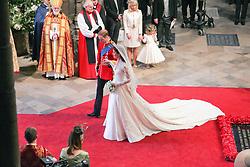 Prince William & Kate Middleton wedding, Westminster Abbey London April 2011