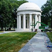 World War I Memorial renovation