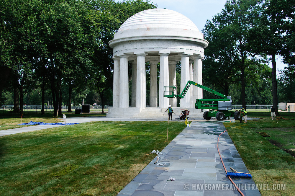 World War I Memorial renovation
