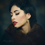 """A woman can be beautiful as well as intellectual.""<br /> ~Audrey Hepburn  Model: Luxbot Lacheln  MU/Hair: Jackie Jackson​ @starhighbeauty <br /> Photog/Editing/Styling: Alexxa Grace Photography​  Clothing, Jewelry, Accessories - Vintage 50s <br /> www.alexxagrace.com<br />   www.instagram.com/alexxagrace/ #vintage #1950sfashion #audreyhepburn #vintagejewelry #elegance #grace"